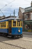 Electric tram - Beamish Open Air Museum - England Royalty Free Stock Images