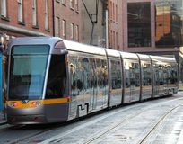 Electric Tram. Royalty Free Stock Photos