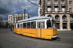 Electric Tram Stock Photo