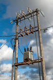 Electric transformer Stock Photo