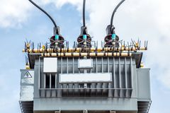 Electric transformer Royalty Free Stock Image