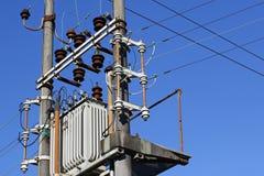 Electric transformer Stock Photos
