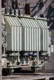 Electric transformer Royalty Free Stock Photography