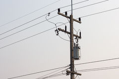 Electric transformer Stock Photography