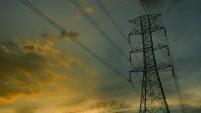Electric Transmission Tower 1 stock video
