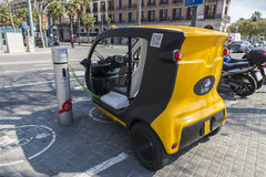 Electric tricycle Stock Photography