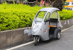 Electric tricycle Royalty Free Stock Photo