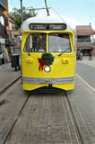 Electric Trolley Car in San Francisco Stock Photos