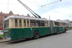 Electric Trolley Car Royalty Free Stock Photography