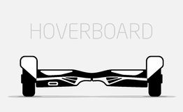 Electric two Wheels Balance Board. Hoverboard Royalty Free Stock Photo