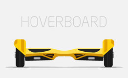 Electric two Wheels Balance Board. Hoverboard Royalty Free Stock Photos