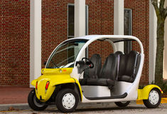 Electric vehicle. Eletric vehicle for alternative transportation Royalty Free Stock Photos