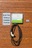 Electric Vehicle Charge Station Stock Image