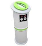 Electric Vehicle Charging Station royalty free illustration