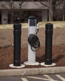 Electric Vehicle Charging Station Stock Images