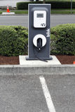 Electric Vehicle Charging Station Stock Image