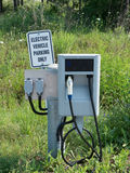 Electric Vehicle Charging Station Royalty Free Stock Images