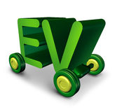 Electric Vehicle Royalty Free Stock Photography