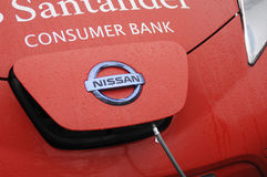 ELECTRIC VHEICLE NISSAN Royalty Free Stock Image