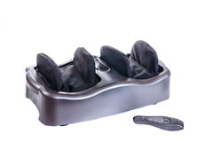 Electric vibrating feet massager Royalty Free Stock Photos