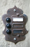 Electric vintage doorbell Stock Photos