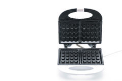 Electric waffle maker. On white background Stock Photography