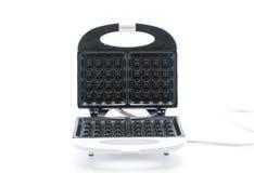 Electric waffle maker. On white background Stock Image
