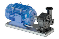 Electric water pump Stock Image