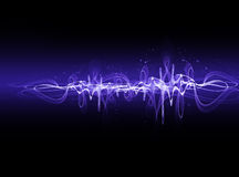 Electric wave Stock Photography