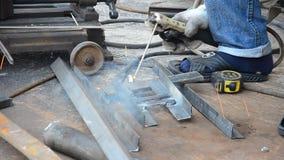 Electric welding stock video