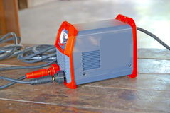 Electric welding machines  in Thailand Royalty Free Stock Images