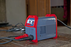Electric welding machines  in Thailand Royalty Free Stock Photography