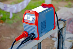 Electric welding machines  in Thailand Stock Photography