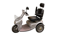 Electric wheel chair Stock Image