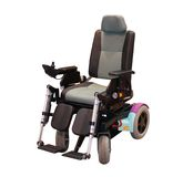 Electric Wheelchair. Royalty Free Stock Image