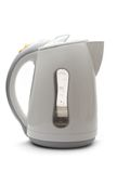 Electric white kettle Stock Images