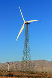 Nature Friendly Electric Windmill Farm stock photo