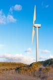Electric Wind Turbine Stock Photo
