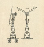 Electric Windmill Diagram Stock Images