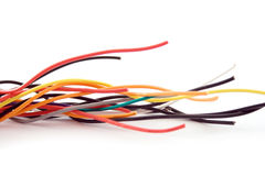 Electric  wire spiral Royalty Free Stock Images