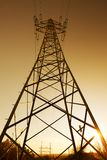 Electric wire tower Stock Photography