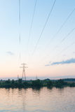 Electric wires Royalty Free Stock Photo