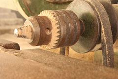 Electric wood working machinery Royalty Free Stock Image