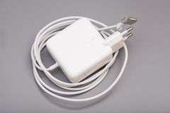 Electrical adapter to USB port Stock Images
