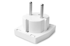 Electrical adapter Royalty Free Stock Photo
