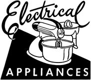 Electrical Appliances Vector Illustration
