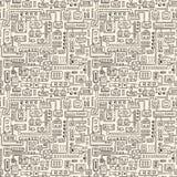 Electrical appliances seamless pattern Royalty Free Stock Photo