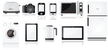Electrical Appliances Symbols Royalty Free Stock Photo