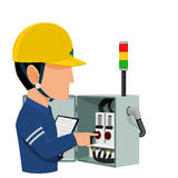 Electrical audition Stock Photography