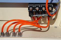 Electrical automation Stock Photography